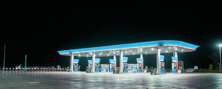 Energy Efficient Led Canopy Lights For Gas Stations