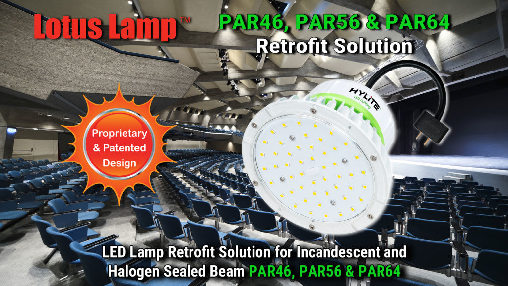 led par can lamps