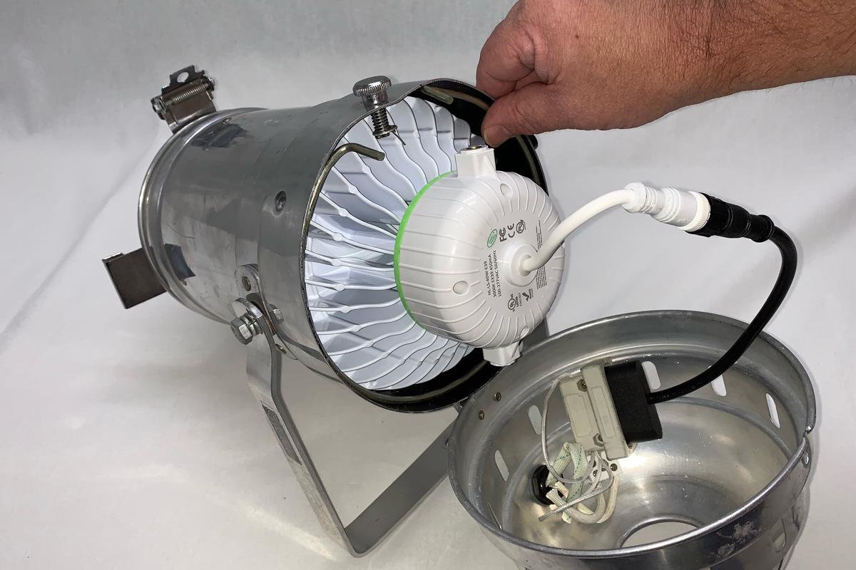 upgrade par lamps